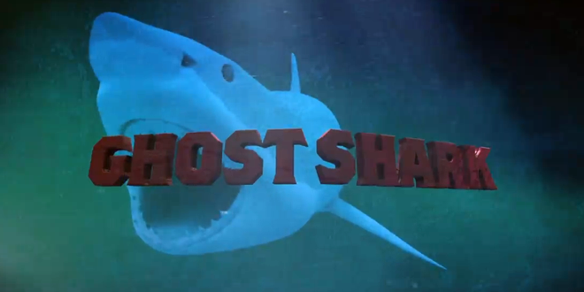 31 Days of Halloween: Day 10: Ghost Shark |