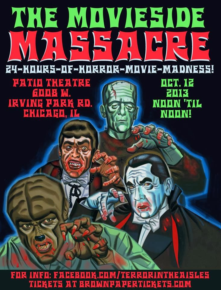 31 Days Of Halloween: Day 12 U0026 13: The Movieside Massacre 2013
