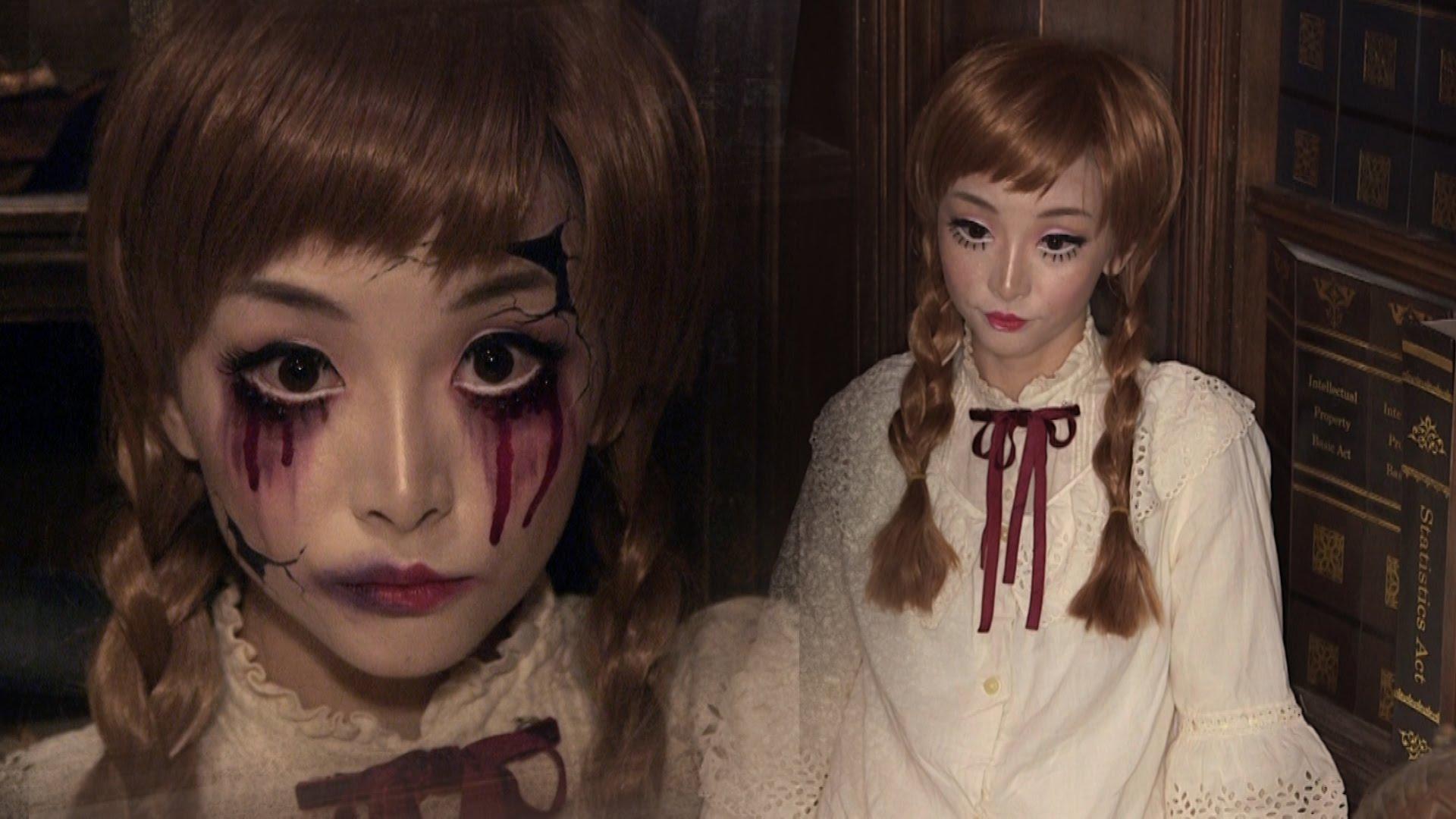 horror how to vintage doll broken doll make up tutorial. Black Bedroom Furniture Sets. Home Design Ideas